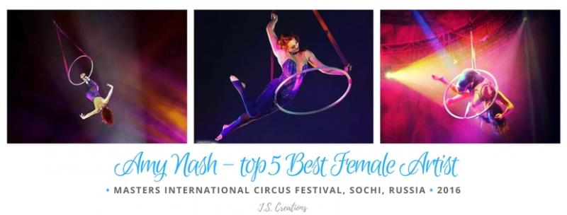Amy Nash acrobatic tippy lyra hoop circ festival masters creation choreography